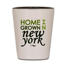 'Home Grown In NY' Shot Glass