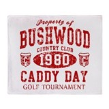 Caddyshack Bushwood CC Caddy Throw Blanket