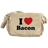 I love bacon Messenger Bag