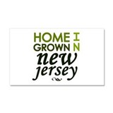 'New Jersey' Car Magnet 20 x 12