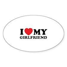 I love my girlfriend Decal
