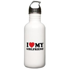 I love my girlfriend Water Bottle