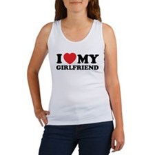 I love my girlfriend Women's Tank Top