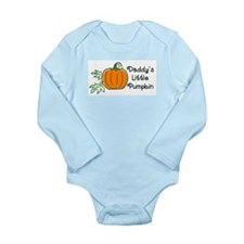 Daddy's Little Pumpkin Long Sleeve Infant Bodysuit
