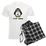 Personalized Music Penguin pajamas