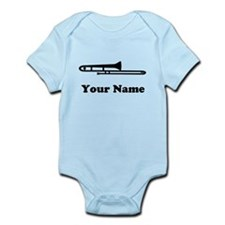 Personalized Trombone Infant Bodysuit