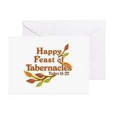 Happy Feast of Tabernacles Greeting Cards (Pk of 1
