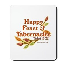 Happy Feast of Tabernacles Mousepad