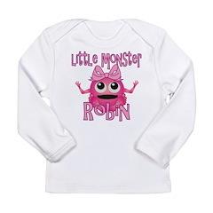 Little Monster Robin Long Sleeve Infant T-Shirt