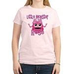 Little Monster Rose Women's Light T-Shirt