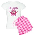 Little Monster Rose Women's Light Pajamas