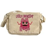 Little Monster Rose Messenger Bag