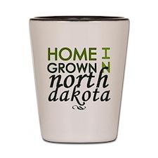 'North Dakota' Shot Glass