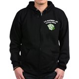I'd rather be playing poker Zipped Hoodie