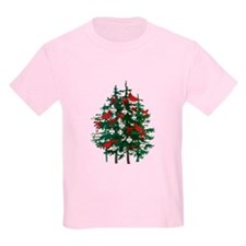 Baseball Christmas Tree T-Shirt