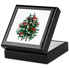 Baseball Christmas Tree Keepsake Box