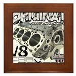 Original V8 Framed Tile