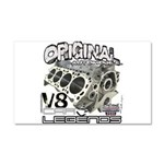 Original V8 Car Magnet 20 x 12