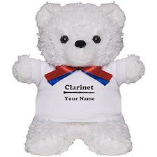 Personalized Clarinet Teddy Bear