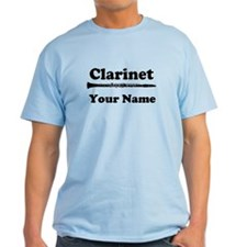 Personalized Clarinet T-Shirt