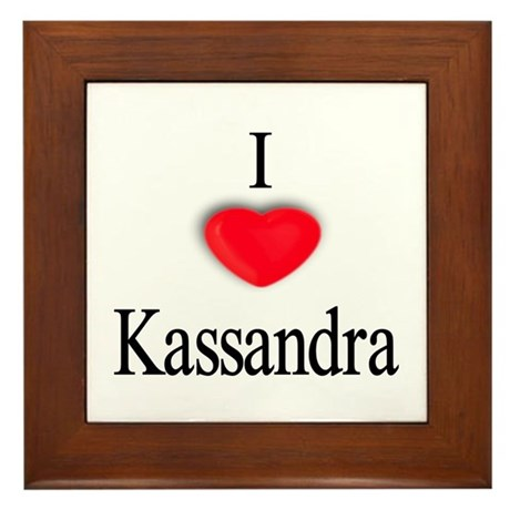 Kassandra Framed Tile