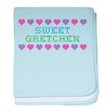 Sweet GRETCHEN baby blanket