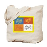 Four Dignities Tote Bag
