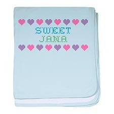Sweet JANA baby blanket