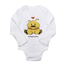 Tough Love Long Sleeve Infant Bodysuit