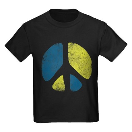Vintage Peace Sign Kids T-Shirt