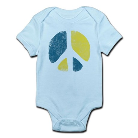 Vintage Peace Sign Infant Bodysuit