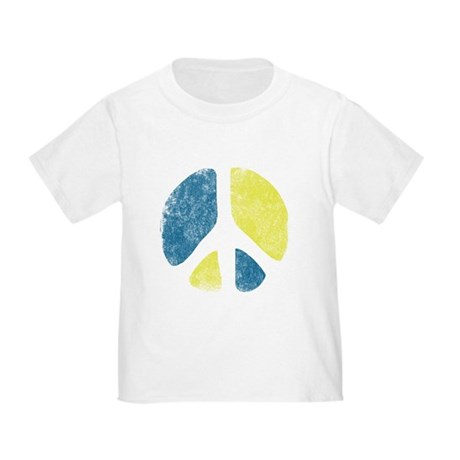 Vintage Peace Sign Toddler T-Shirt