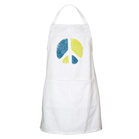 Vintage Peace Sign Apron
