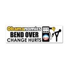 """Bend Over"" Car Magnet 10 x 3"