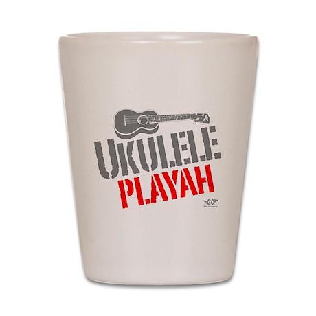 Ukulele Playah Shot Glass