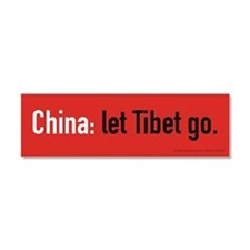 Let Go Car Magnet 10 x 3