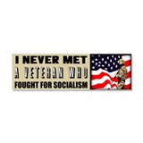 &amp;quot;Fight For Socialism?&amp;quot; Car Magnet 10 x 3