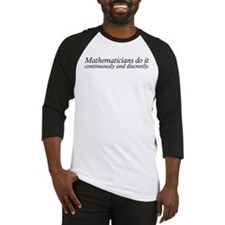 Mathematicians do it Baseball Jersey