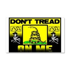 """Don't Tread On Me"" Car Magnet 20 x 12"