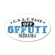 Offutt Air Force Base 22x14 Oval Wall Peel