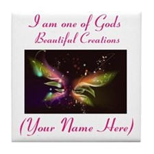 Beautiful Creations Tile Coaster