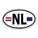 Country flag Bumper Stickers