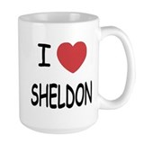 I heart sheldon Mug