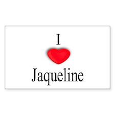 Jaqueline Rectangle Decal