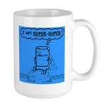 Large Mug featuring super duper Tom