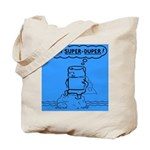 Tote Bag featuring Super Duper Tom