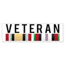 OIF/OEF Veteran Bumper Bumper Sticker