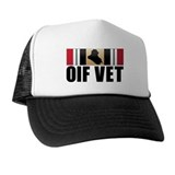 Operation Iraqi Freedom, OIF VET, VeterTrucker Hat