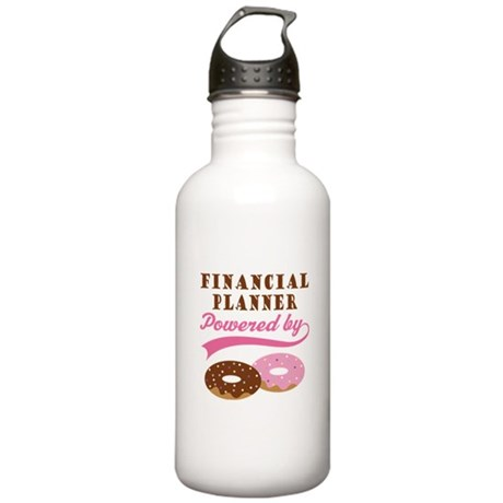 Financial Planner Gift Donuts Stainless Water Bott