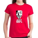 Fawkes 99% Women's Dark T-Shirt